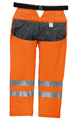 Stihl Beinschutz, Ringsum, orange, S-M