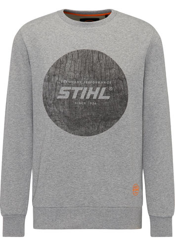Stihl Sweatshirt Wood Circle 100% Baumwolle